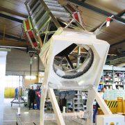 Automatizadas y robotizadas. Útil de integración de satélite SEOSAR