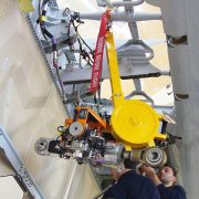 Aircraft Ground Equipment. Útiles para mantenimiento: útil de izado para montaje del actuador del HTP