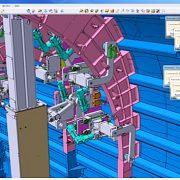 Diseño y estudio cinemático. Utillaje interior S19 A350 Getafe