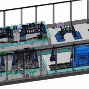 Líneas de montaje: VTP C919 COMAC para Aritex. Ingeniería, diseño y cálculo